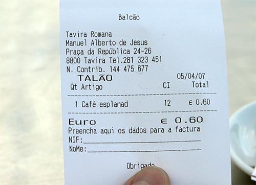 Cuánto vale un café