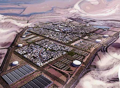 La fuente o la ciudad farisea