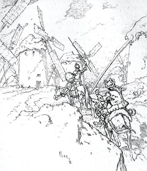 El gigante Caraculiambro y Los Molinos
