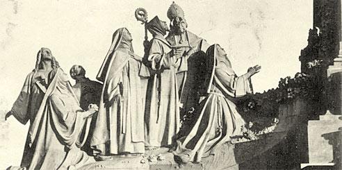 Monumento al pobrecillo de Asís en Getafe