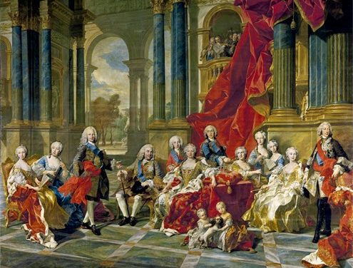 Cuando el rey Felipe admitió que dos hembras valían por  un varón