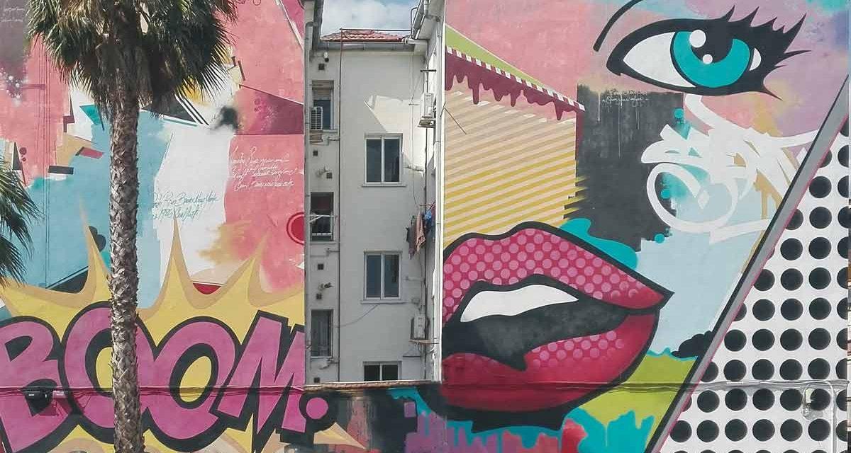 Casi 40 años de arte 'callejero' para embellecer los testeros de Getafe
